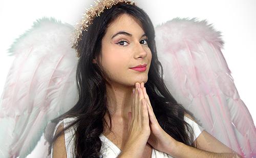 maquillaje de angel blanco monika sanchez de guapa al instante