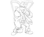 #4 Donkey Kong Coloring Page