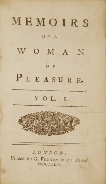 Una de las primeras ediciones de Fanny Hill