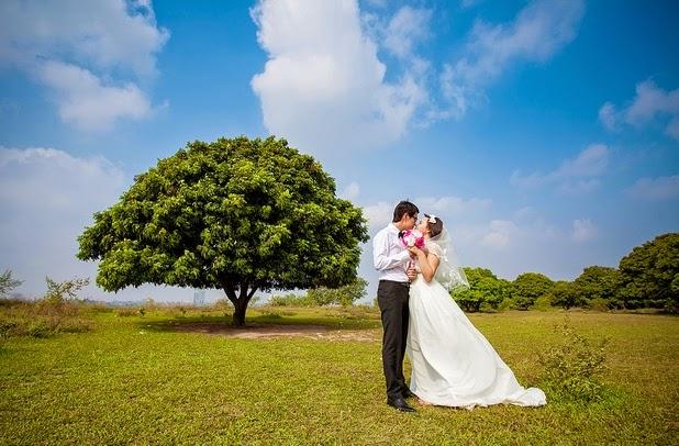 Địa điểm chụp ảnh cưới đẹp ở Hà Nội: Vườn nhãn Gia Lâm6