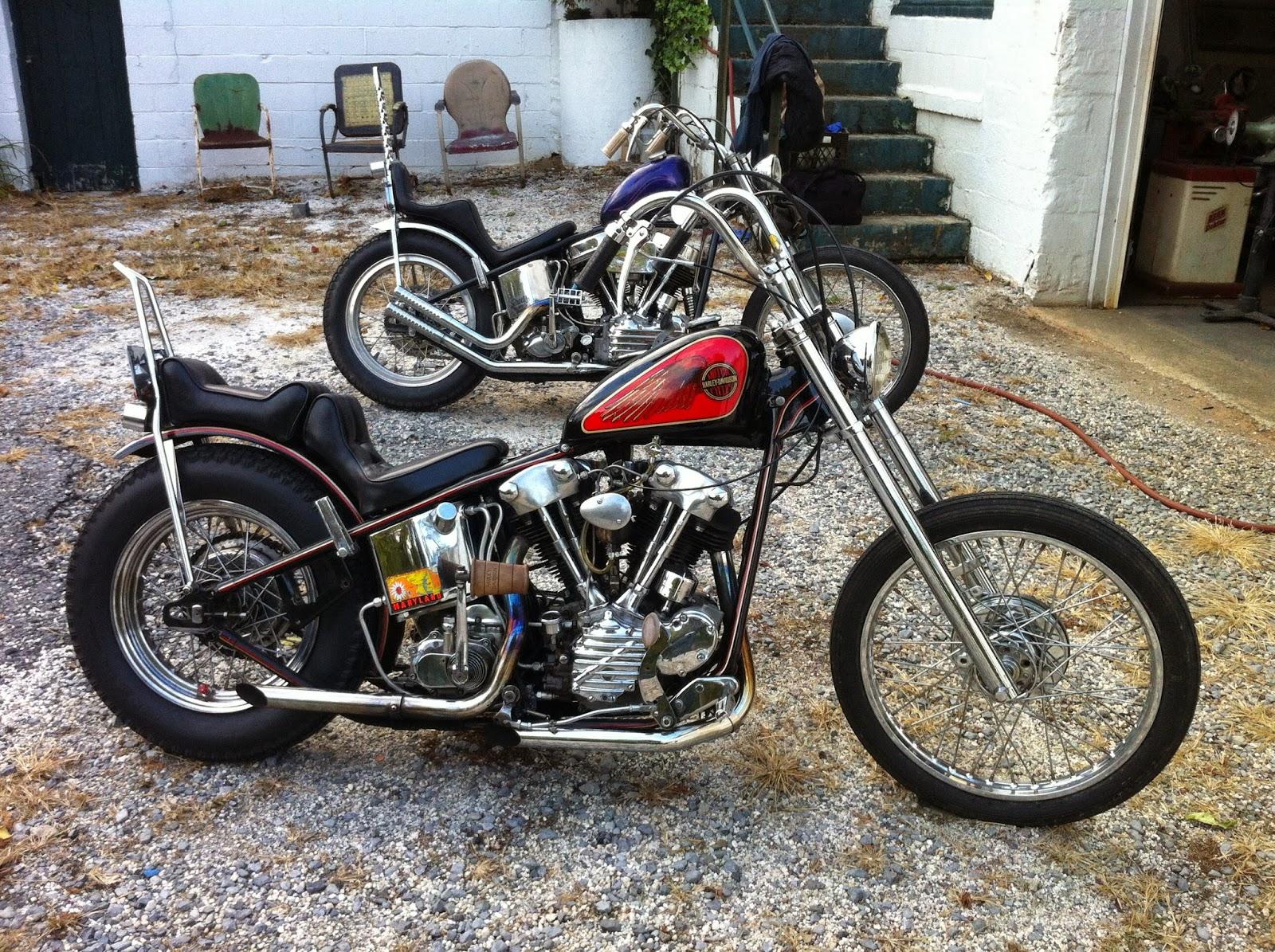 born loser 1946 knucklehead chopper for sale