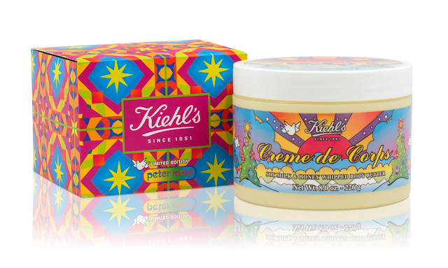 Kiehl's X Peter Max Crème de Corps Whipped Body Butter