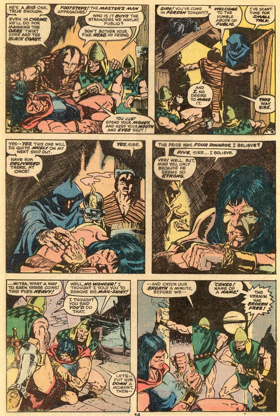 Conan the Barbarian (1970) Issue #57 #69 - English 9