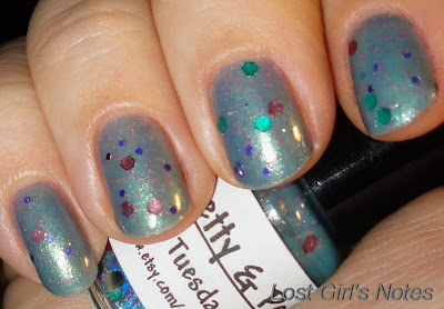 tuesday taurus pretty and polished nail polish