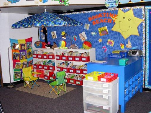 sala de lectura Decoração de Salas de Aula: Entenda Como Funciona
