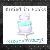 Buried in Books 3rd Blogoversary
