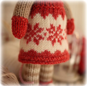 ♥ Magical Snowflake Pinafore....