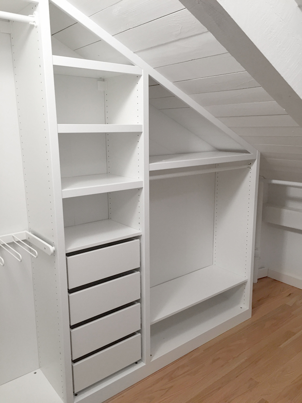 Sarah m dorsey designs closet renovation process for Adding a walk in closet