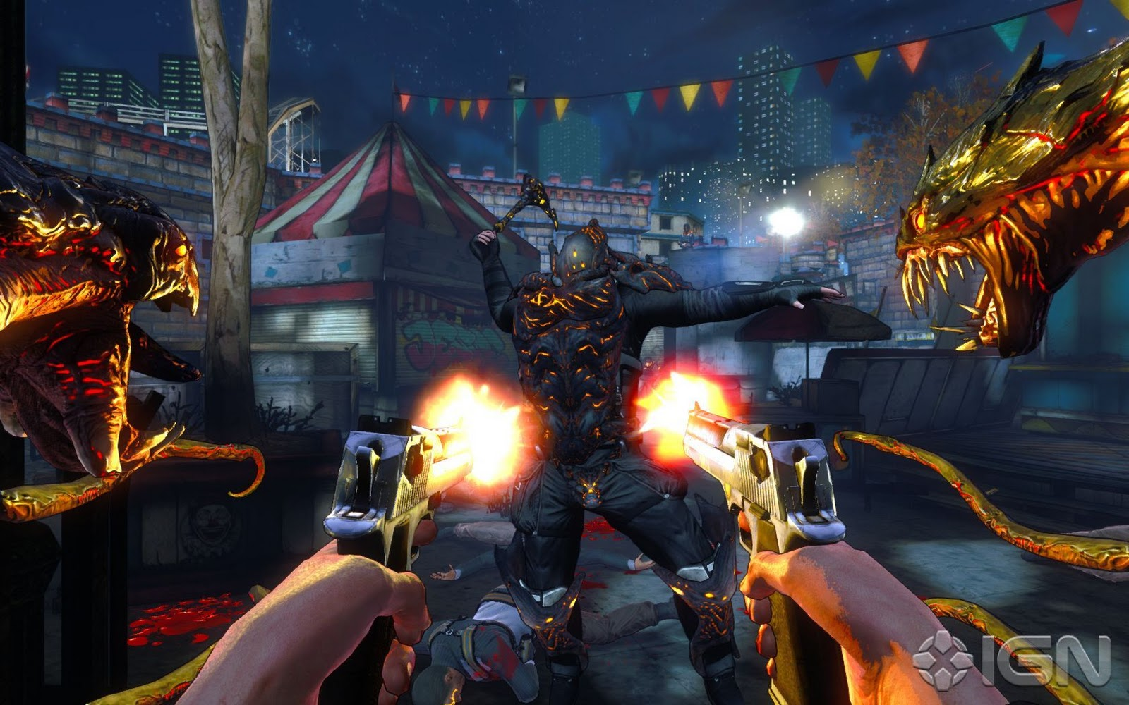 Darkness 2, FPS, First Person Shooter, gaming, video games, article, Future Pixel, Xbox 360, PS3, PC