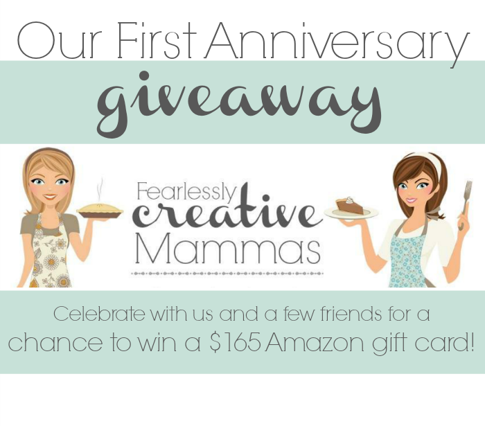 Fearlessly Creative Mammas 1st Anniversary Giveaway