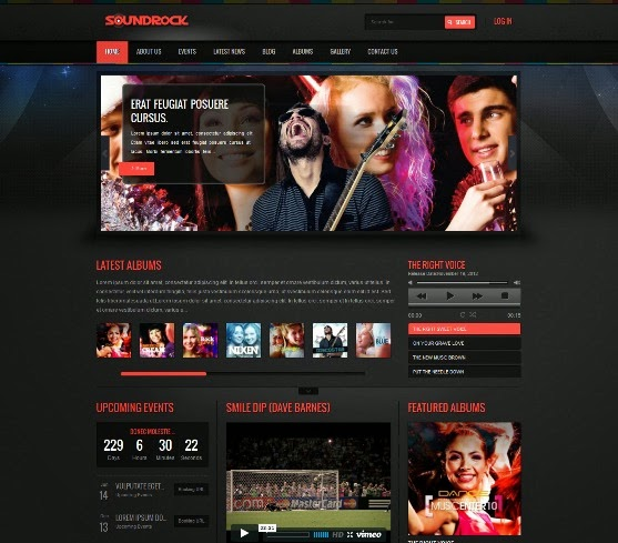 Sound Rock - Music Band WordPress Theme
