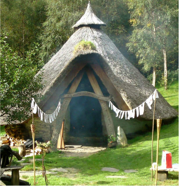 natural building earthen tiny house