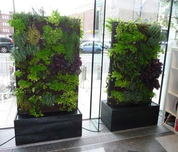 Jardines verticales m viles modulares y sobre ruedas for Modulo jardin vertical