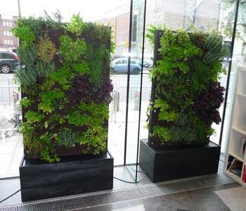 jardines verticales m viles modulares y sobre ruedas