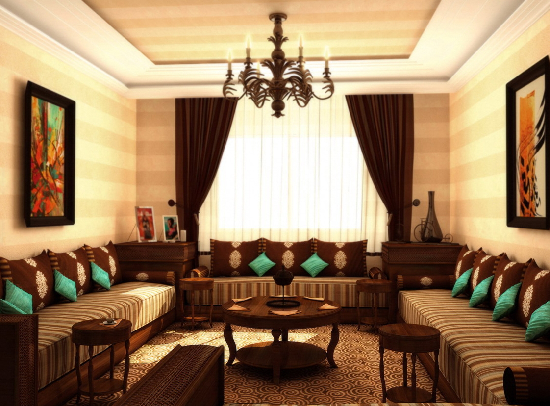 24 mai 2013 dcoration salon marocain moderne 2016 - Decoration Salon Moderne 2013 En Marron