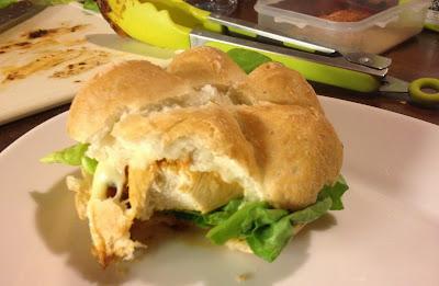gluten free chicken burger nandos