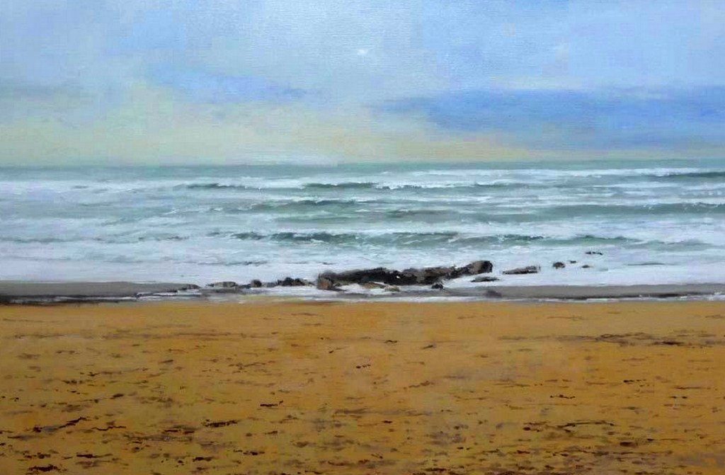 Pinturas cuadros lienzos marinas pintadas al oleo for Cuadros de marinas