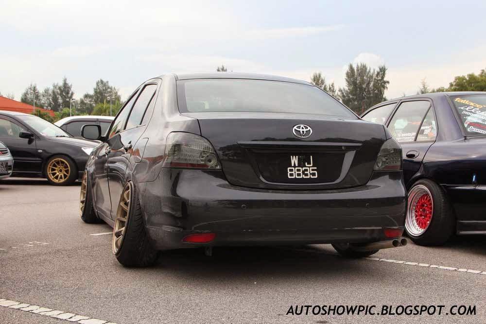 Toyota Vios HellaFlush Malaysia rear