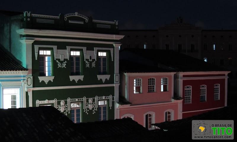 Casario do Centro Histórico de Salvador, na Bahia - Por Tito Garcez em 2012