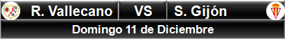 Rayo Vallecano vs Sporting Gijón