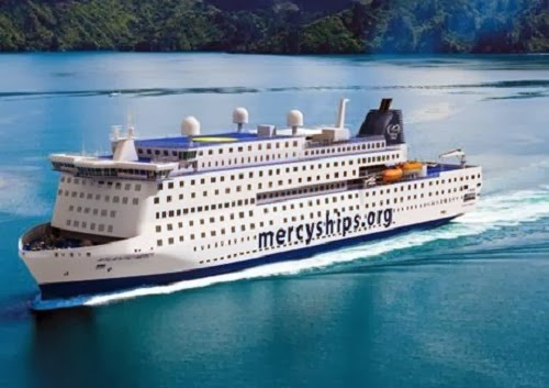 Mercy Ships New Floating Hospital - Delivery 2015
