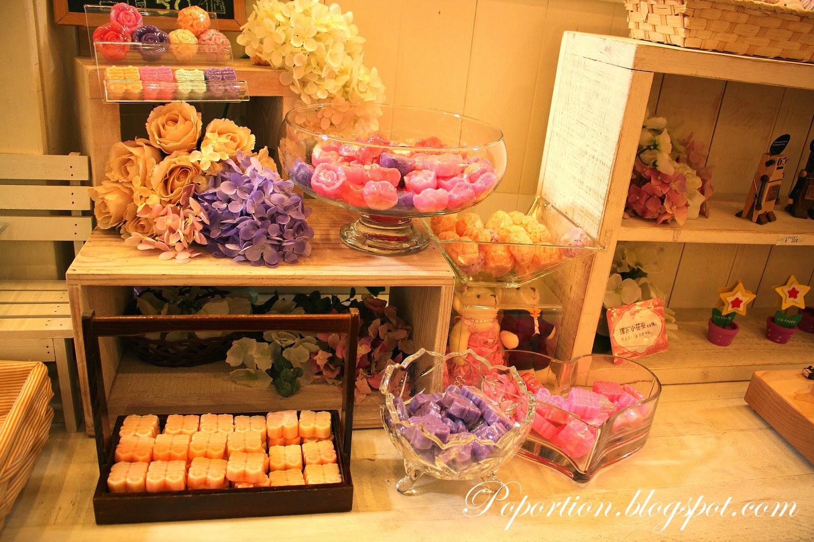 rose soap bars