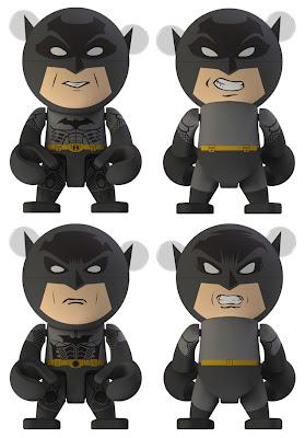Batman Trexi Vinyl Figure Series by Play Imaginative - Batman Begins & Dark Knight Rises