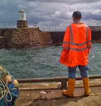 Get our news from the larder & sea! Click on the YELLOW WELLIES...
