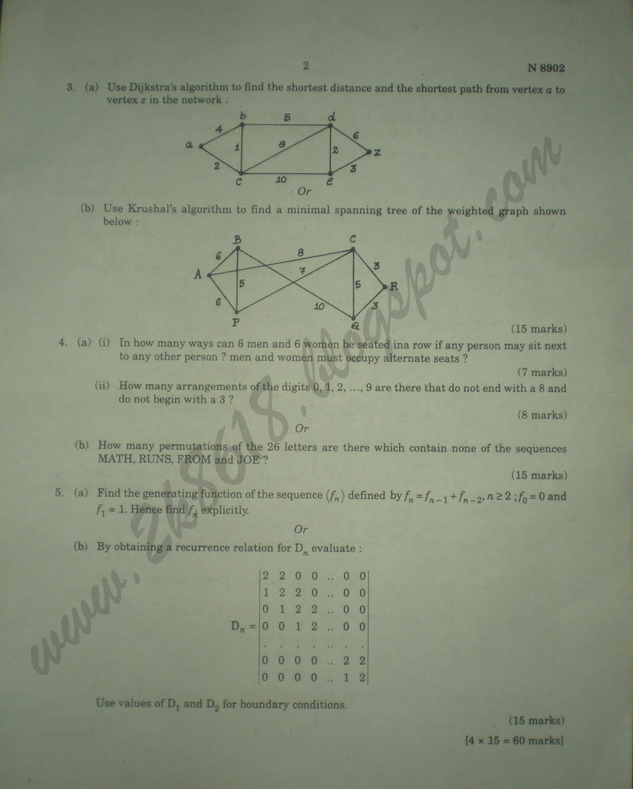 Dda Line Drawing Algorithm Theory : Graph theory combinatorics sixth semester b tech