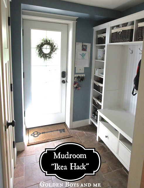 Golden Boys And Me Mudroom Repurposed Ikea Hemnes