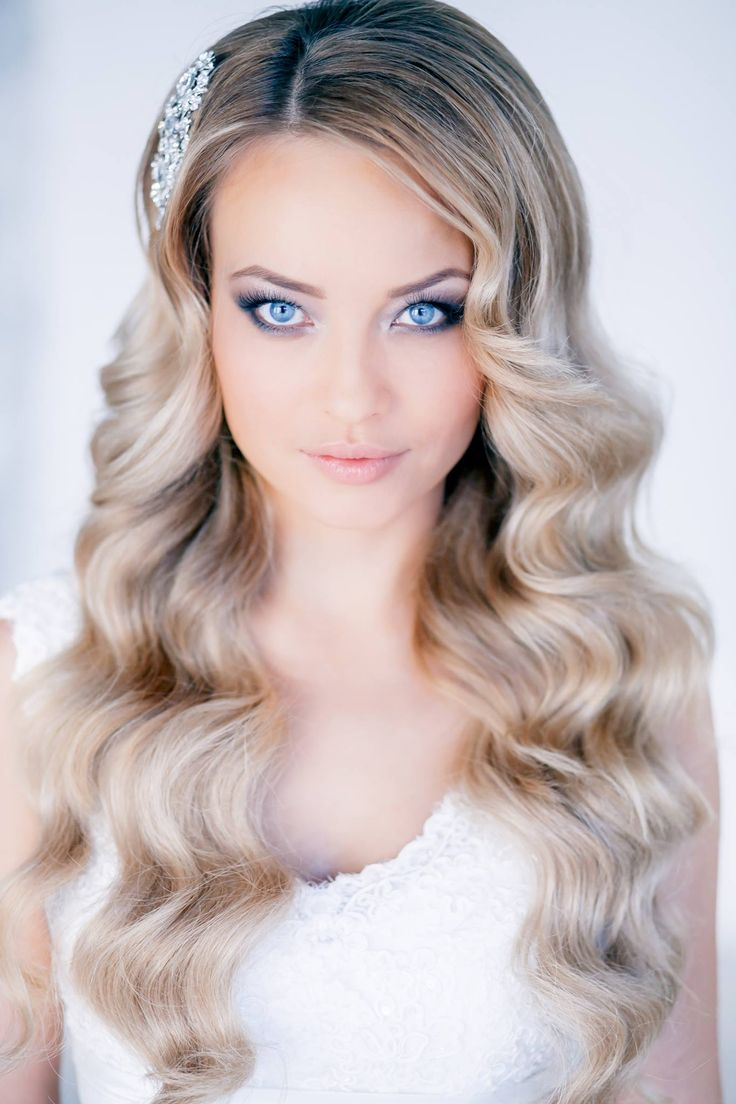 Peinados Novia Pelo Suelto 2017 - Peinados de novia con pelo suelto 2018 sencillos y naturales Zankyou