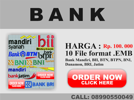 CULEK DESIGN: KUMPULAN LOGO BANK BORDIR DAN VECTOR
