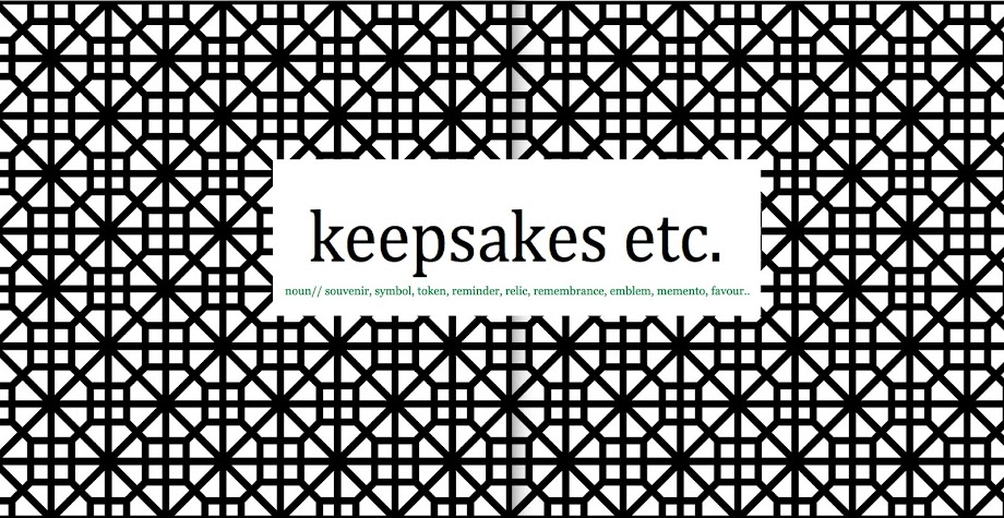 keepsakes etc.