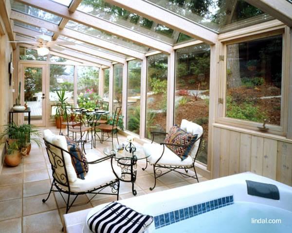 arquitectura de casas cerramientos en cristal y madera de