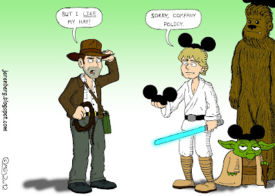 lucasfilm indiana jones but i like my hat luke skywalker sorry company policy yoda chewbacca disney mickey mouse ears hats