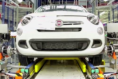 Fiat 500X Wheel Install Station