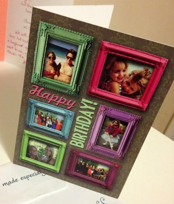personalized birthday cards  slim image, Birthday card
