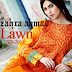 Zahra Ahmad Lawn 2014 | Zahra Ahmad Summer Lawn Collection 2014-2015