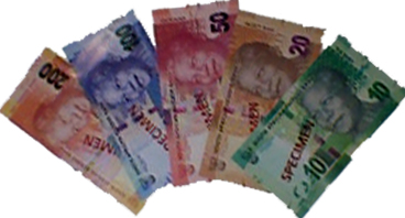 Money Exchange for Goods and Services