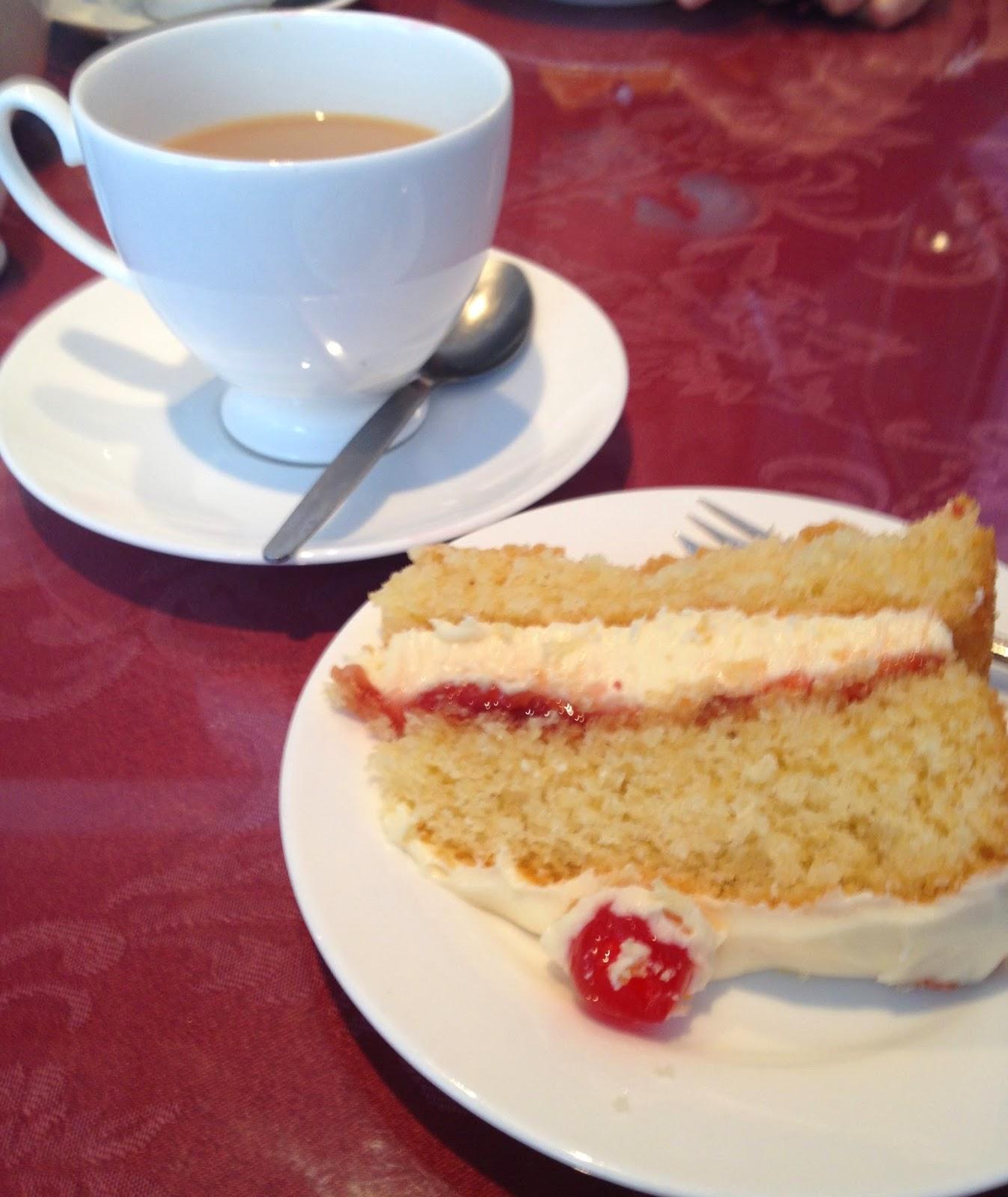 Priory Tea Room  Much Wenlock