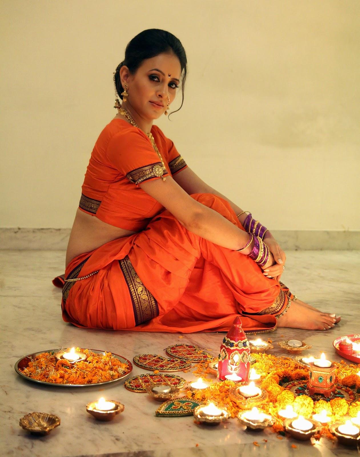 Shweta Khanduri Diwali Special Photo Shoot