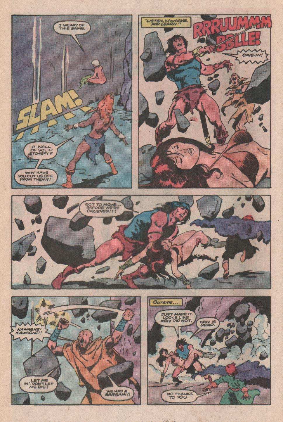 Conan the Barbarian (1970) Issue #173 #185 - English 18