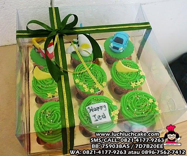 cupcake idul fitri daerah surabaya - sidoarjo