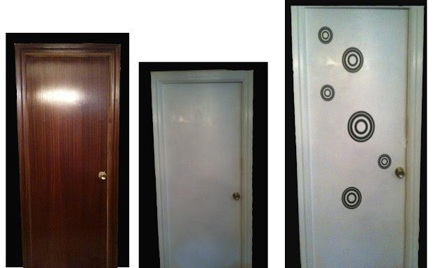 Bricolaje y reciclaje con una puerta antigua