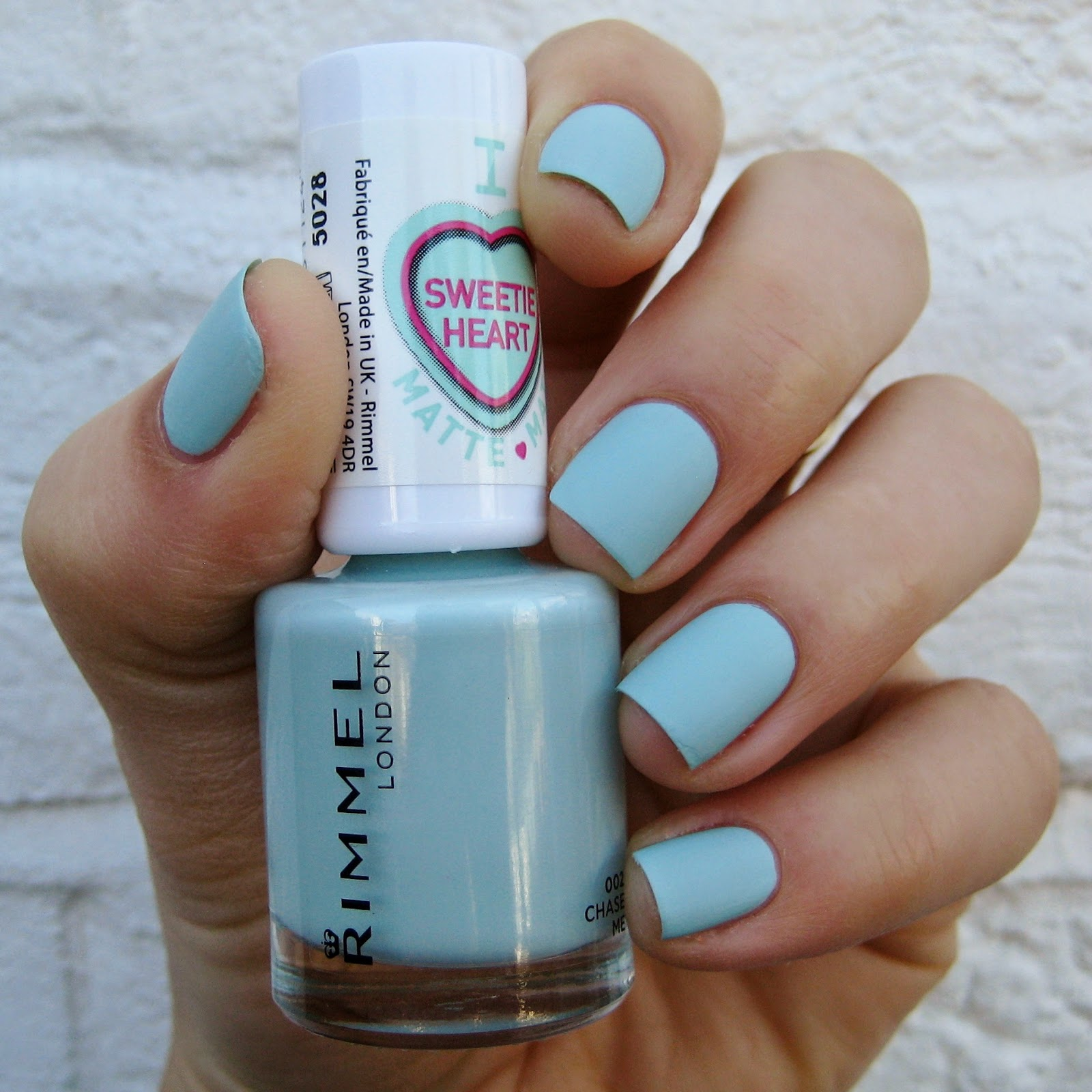 Rimmel London Sweetie Heart Matte Pastels Chase Me