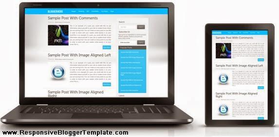 BloggerHero Responsive Blogger Template