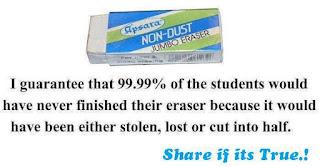 Eraser Fact Eraser Fact