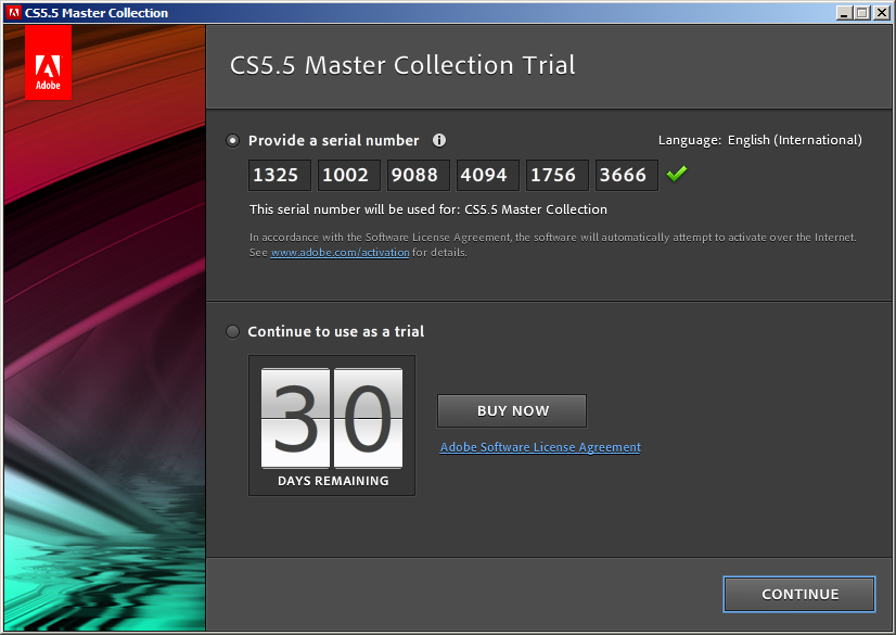 adobe master collection cs5 serial number macromedia