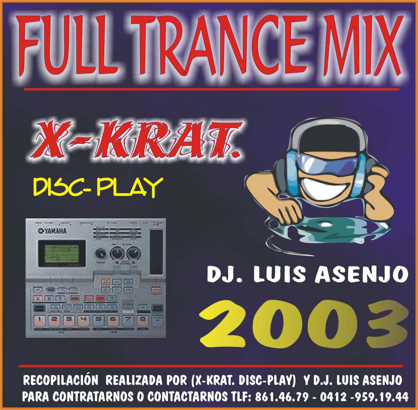 FULL TRANCE MIX 2003
