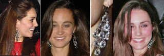 Earrings Kate Middleton